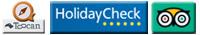 HotelNavigator, HolidayCheck, TripAdvisor
