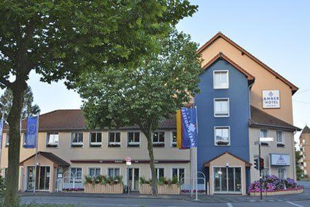 Außenansicht des AMBER HOTEL Hilden/Düsseldorf