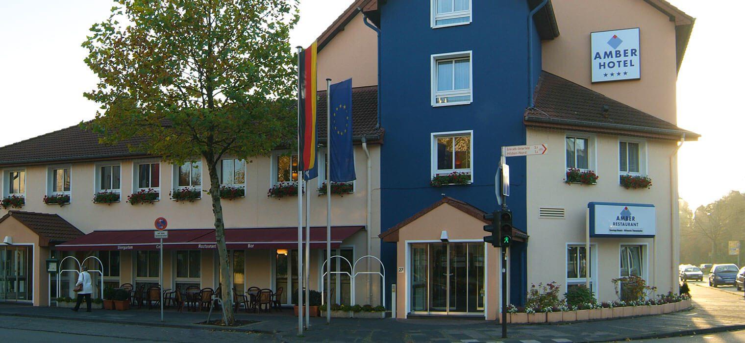 AMBER HOTEL Hilden/Düsseldorf, Ansicht von außen
