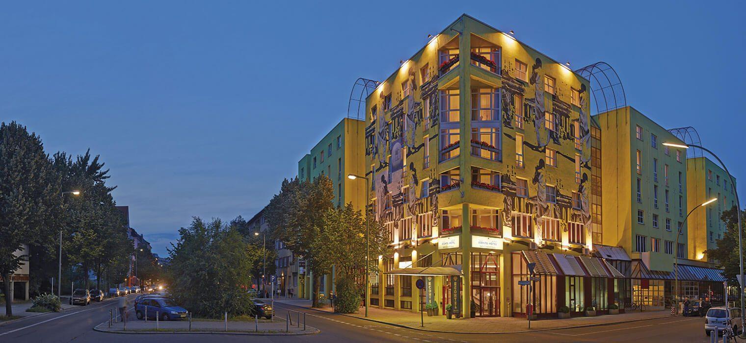 AMBER ECONTEL Berlin-Charlottenburg, Ansicht von außen