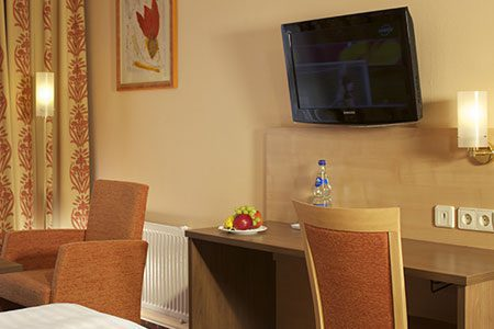 Flat-TV, ECONTEL HOTEL Berlin Charlottenburg
