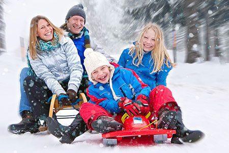 Schlittenfahrt, Foto: Patrizia Tilly/123rf.com