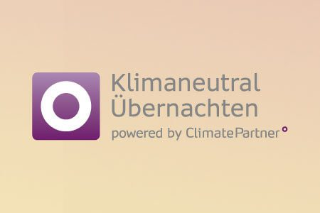 Logo: ClimatePatner - Klimaneutral Übernachten