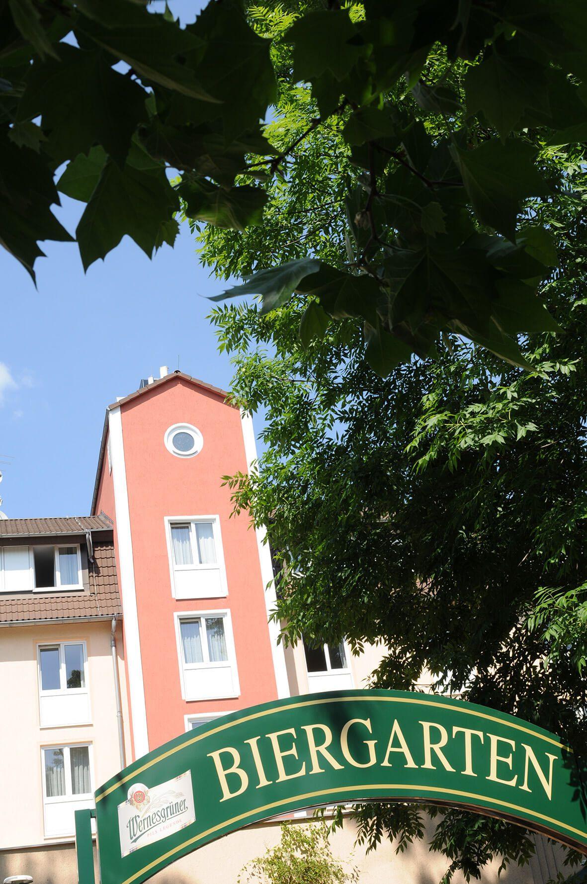 AMBER HOTEL Chemnitz Park: Biergarten/Terrasse