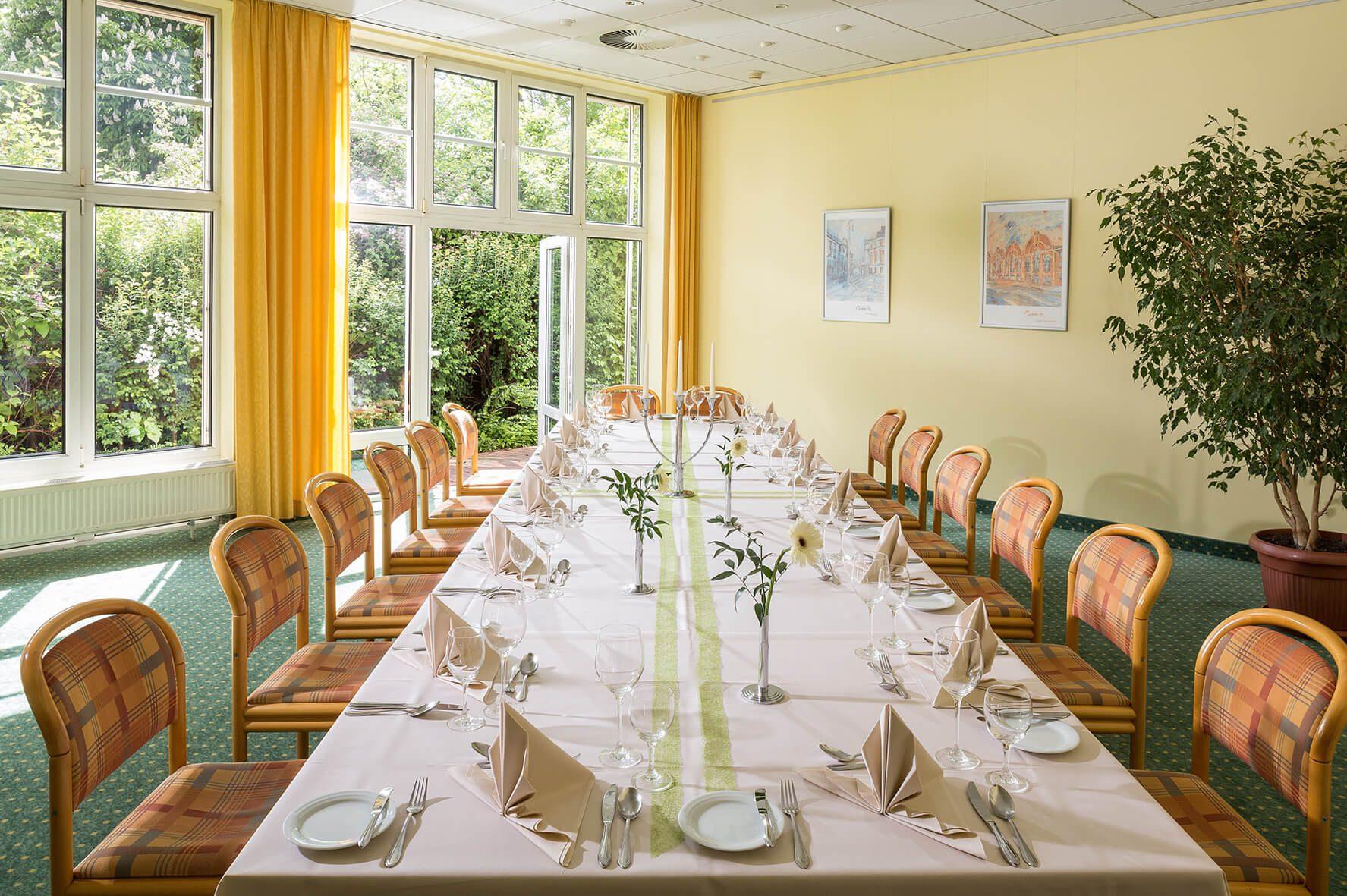 AMBER HOTEL Chemnitz Park: Tagungsraum Röhrsdorf
