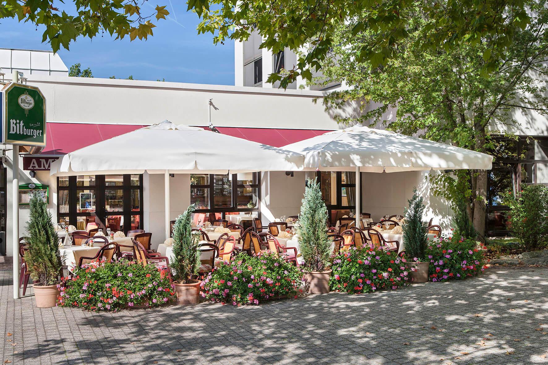 AMBER HOTEL Leonberg/Stuttgart - Terrasse