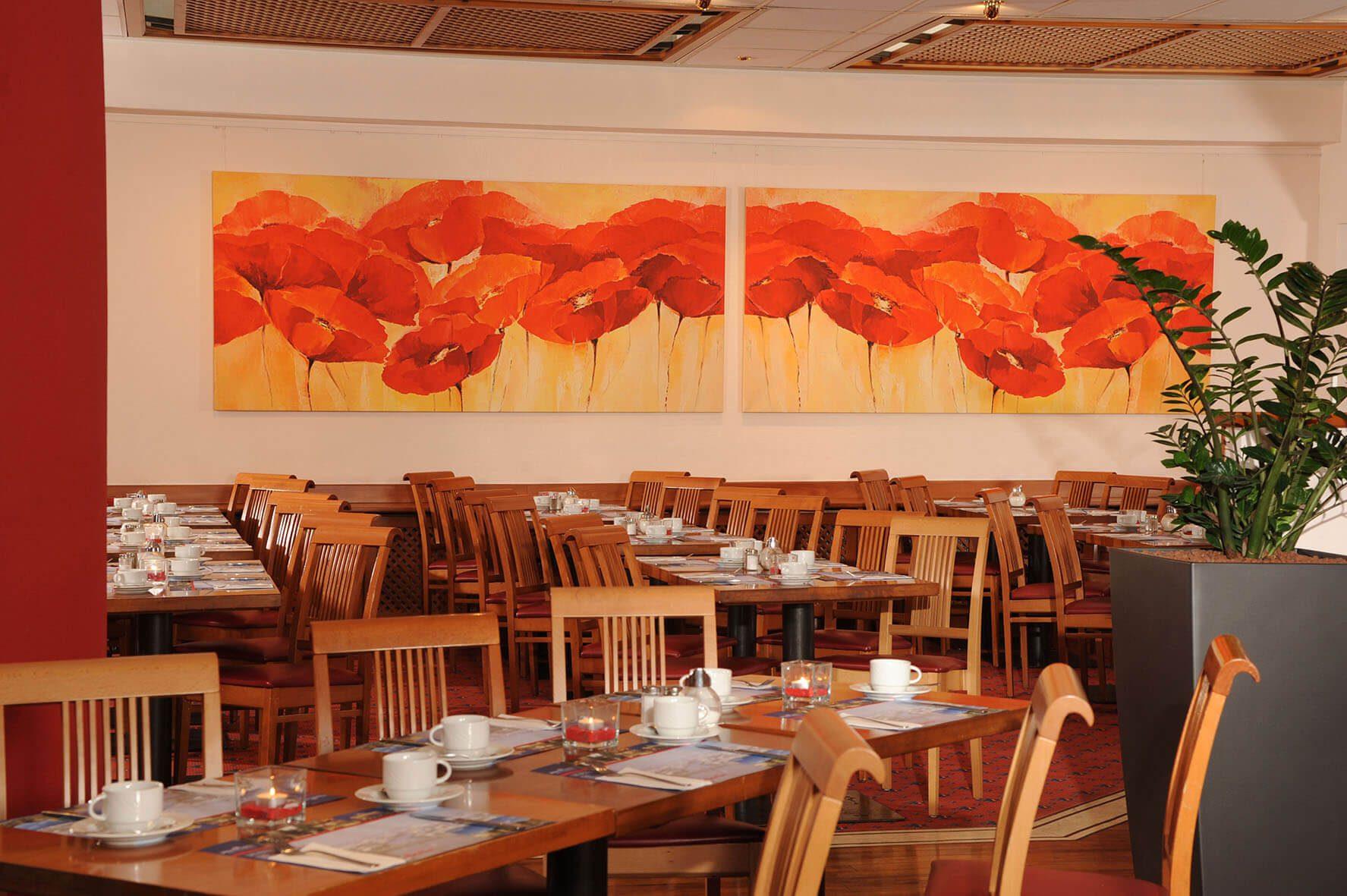 AMBER ECONTEL Berlin-Charlottenburg: Frühstücksrestaurant breakfast restaurant