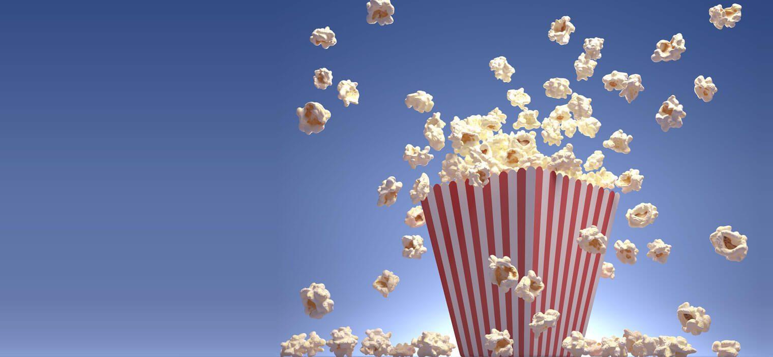 Tüte Popcorn
