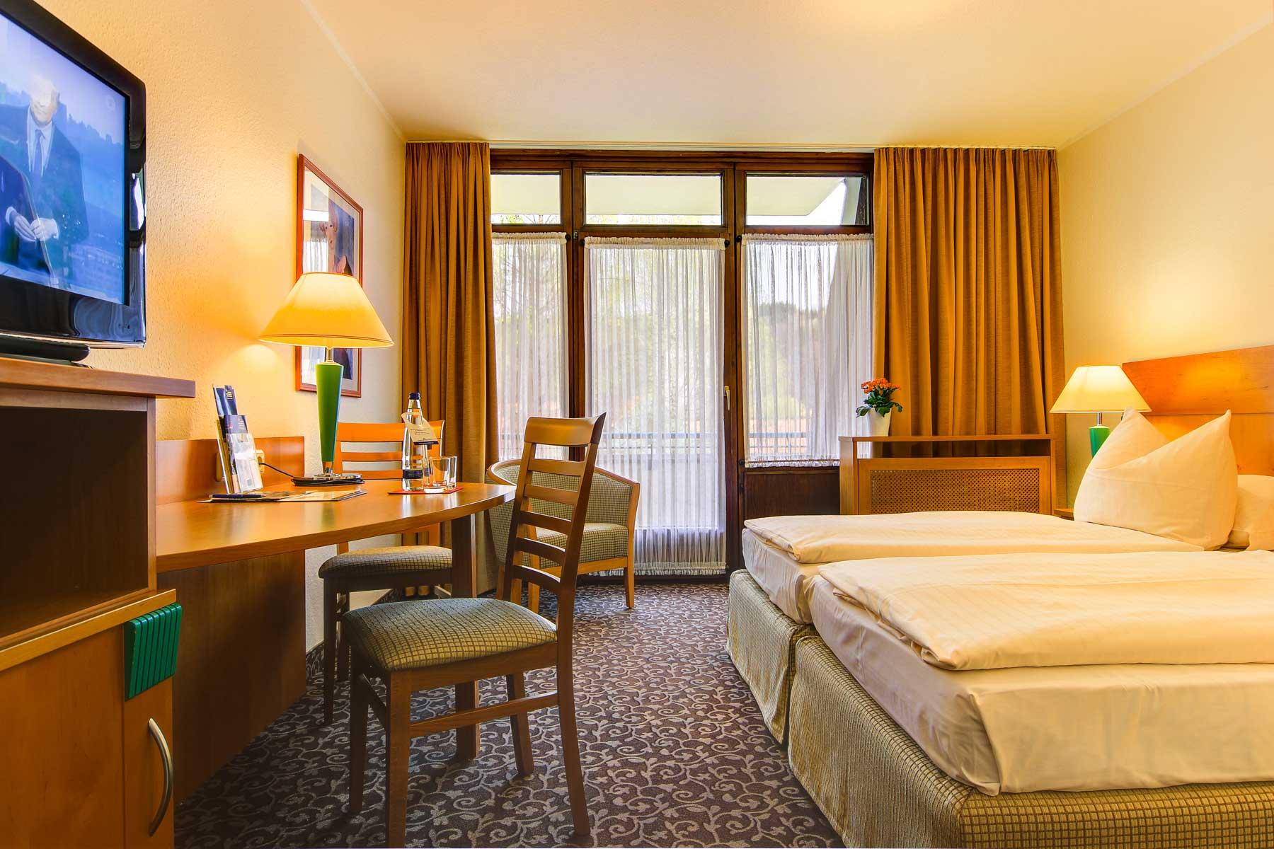 Bild vom Comfort Zimmer im AMBER HOTEL BAVARIA Bad Reichenhall
