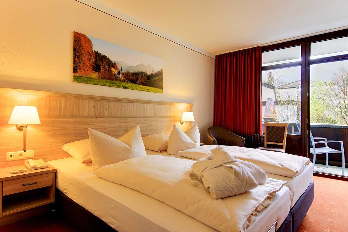 Bild vom Familien Zimmer im AMBER HOTEL BAVARIA Bad Reichenhall
