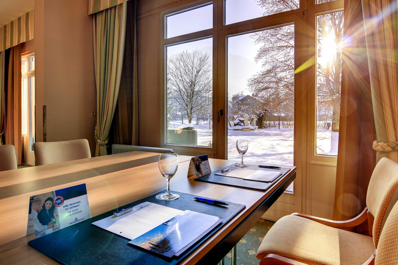 Bild vom Tagungsraum im AMBER HOTEL BAVARIA Bad Reichenhall