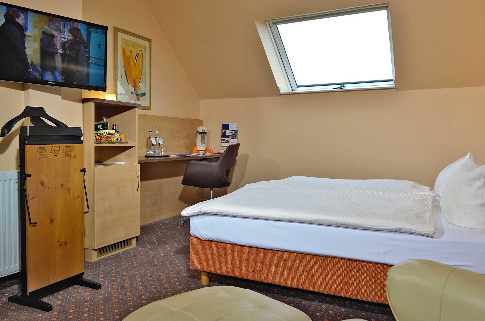 Bild vom Business Zimmer im AMBER HOTEL Hilden/Düsseldorf