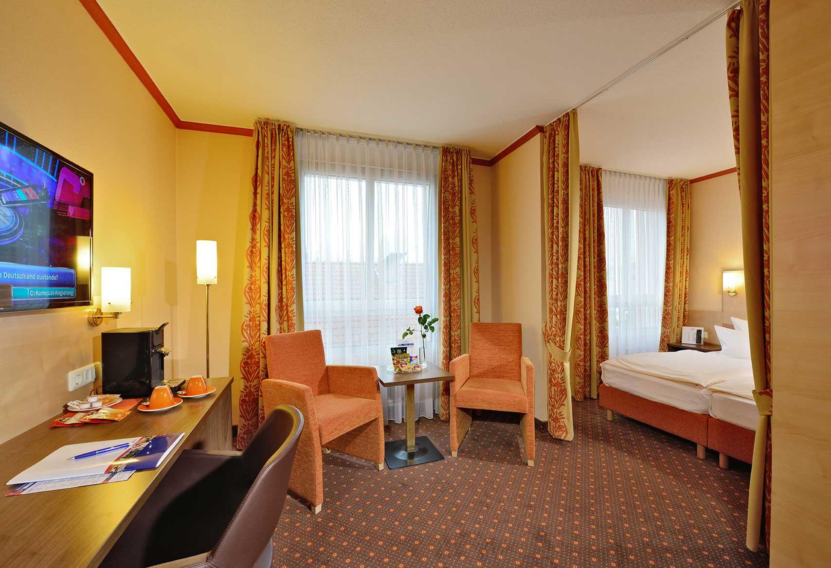 Bild der Suite im AMBER HOTEL Hilden/Düsseldorf