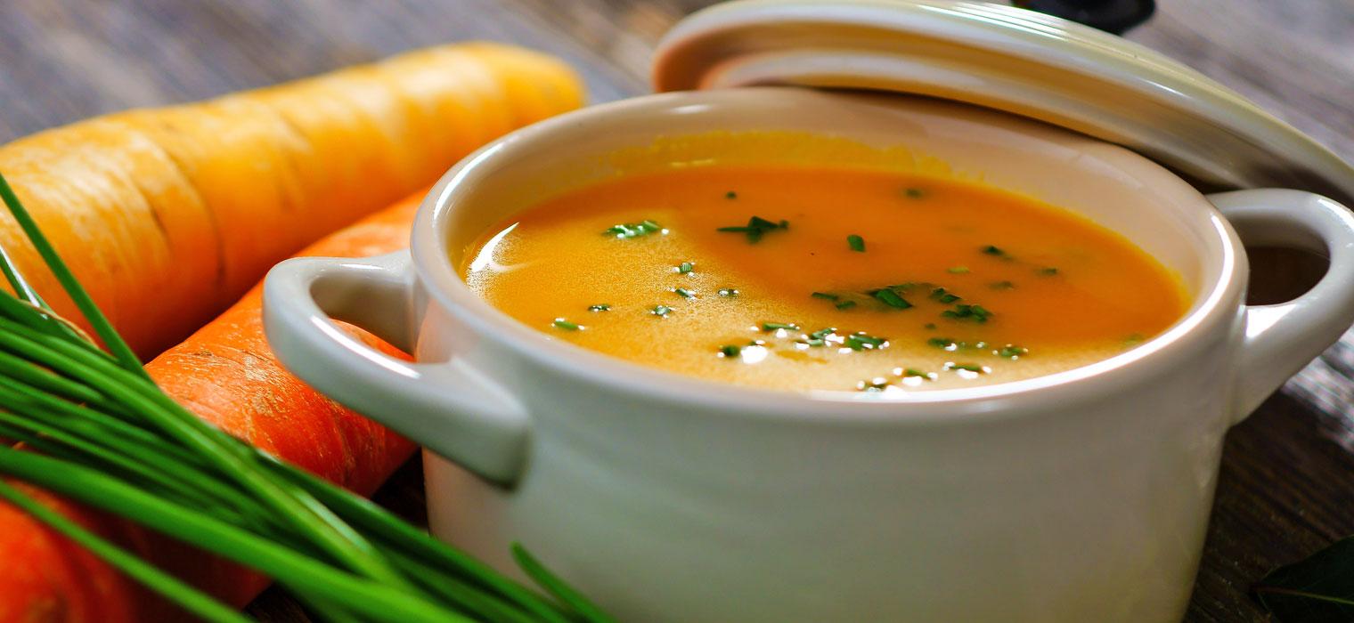 Suppe, Bild: Moselhotel Burg-Café Alken