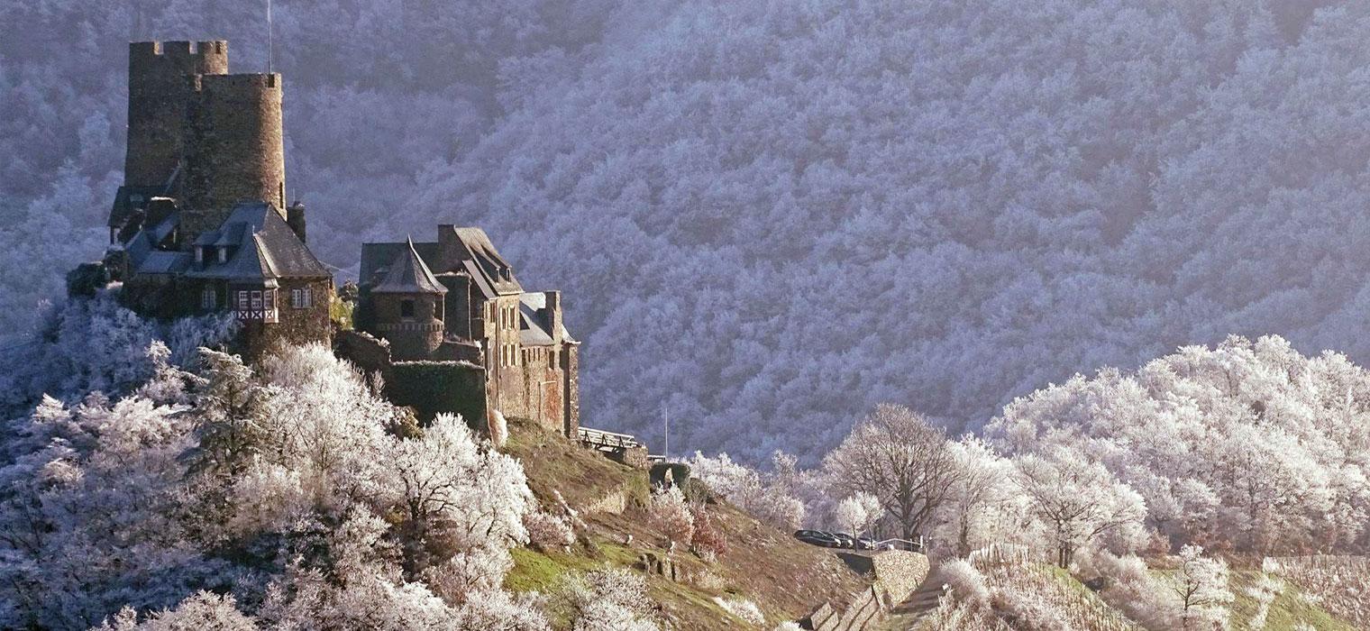Burg Thurant, Bild: Moselhotel Burg-Café Alken