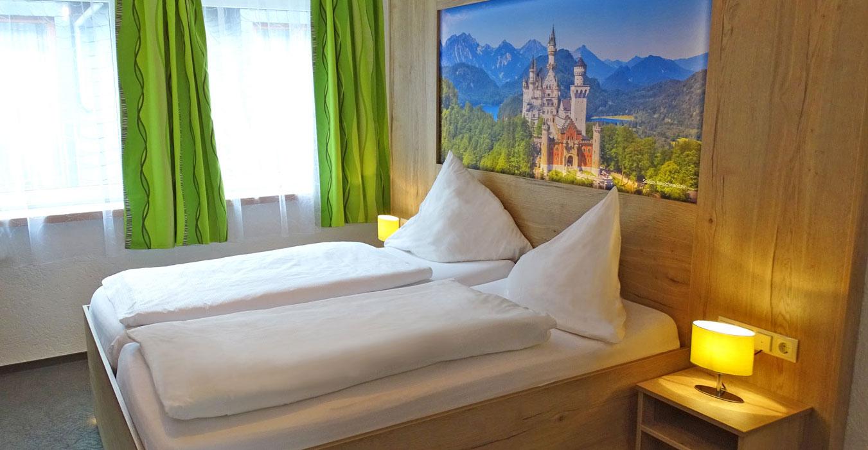 Doppelzimmer, Bild: Moselhotel Burg-Café Alken