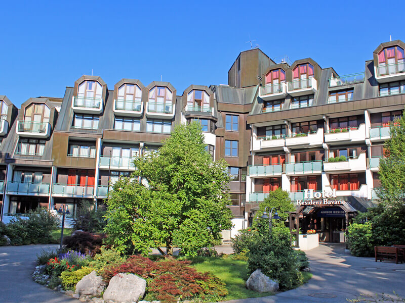 AMBER HOTEL BAVARIA: Außenansicht