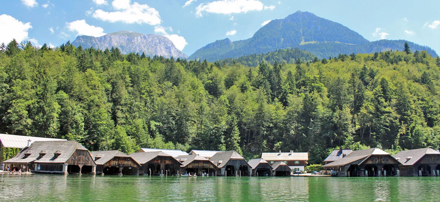 Königssee, Hütten, Bild: AMBER HOTEL BAVARIA Bad Reichenhall
