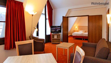 """Hotelzimmer """"Suite"""", Bild: AMBER HOTEL BAVARIA Bad Reichenhall"""