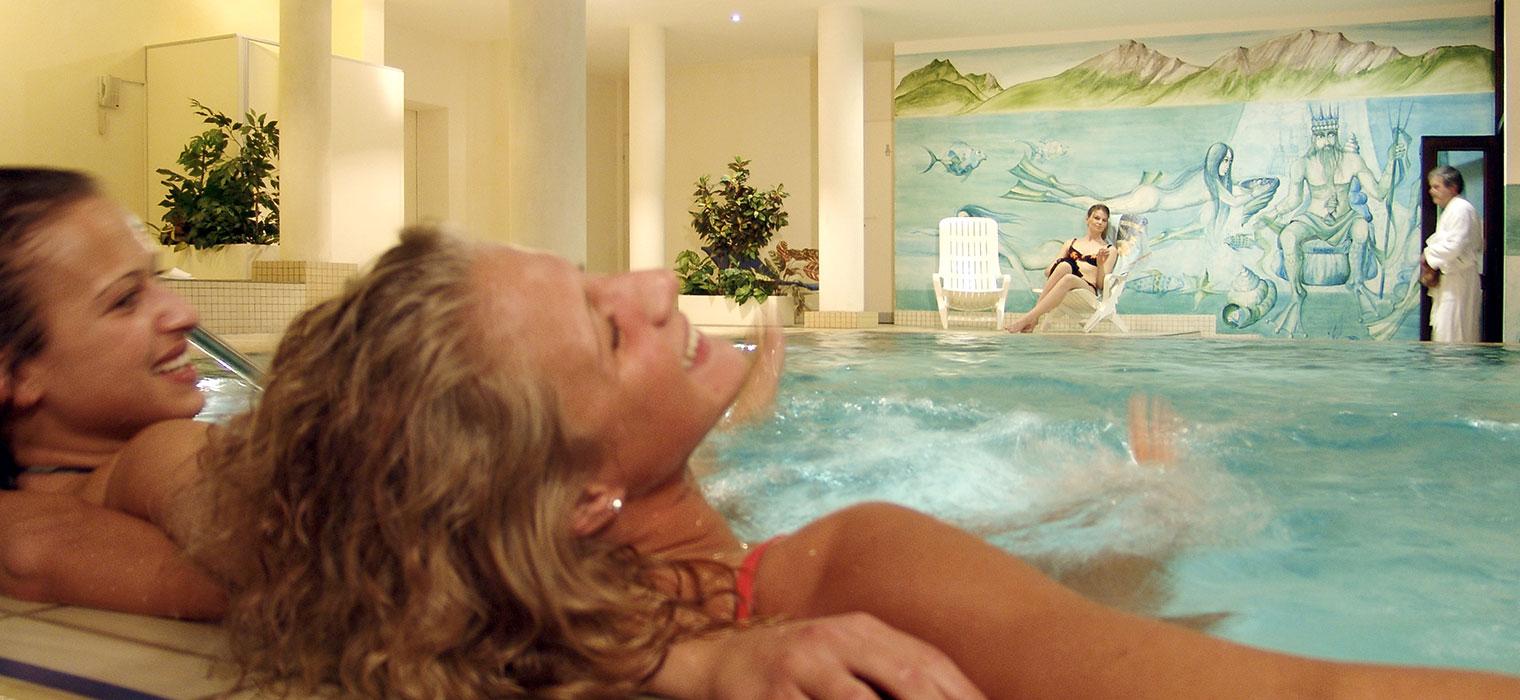 AMBER HOTEL BAVARIA Bad Reichenhall, Schwimmbad