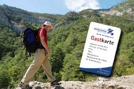 Gastkarte Bad Reichenhall, Bild: AMBER HOTEL BAVARIA Bad Reichenhall