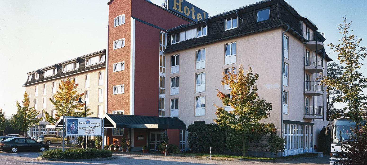 AMBER HOTEL Chemnitz Park Ansicht
