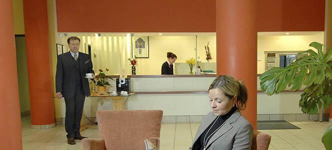 AMBER HOTEL Chemnitz Park Lobby