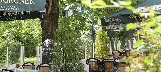 AMBER HOTEL Chemnitz Park Terrasse