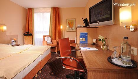 Hotelzimmer, Suite - AMBER HOTEL Hilden/Düsseldorf