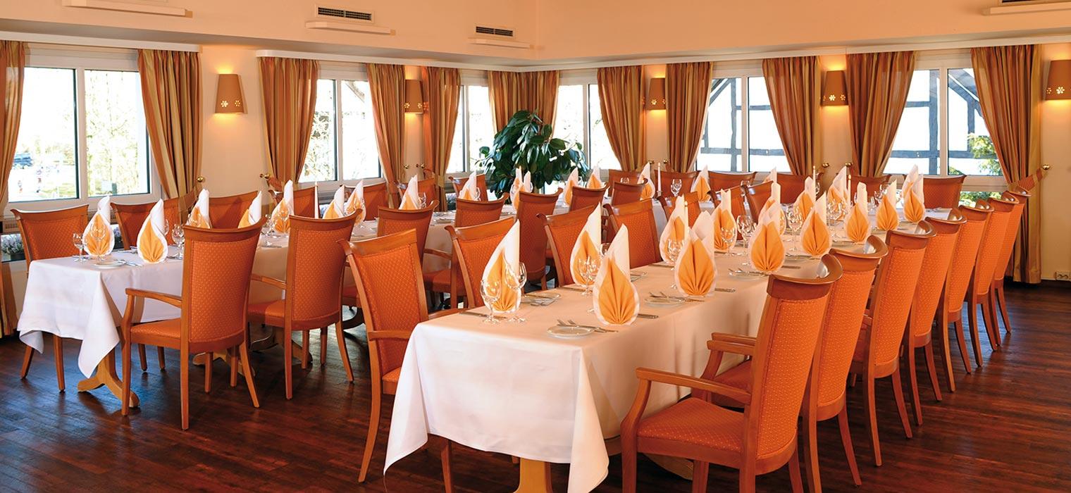 Restaurant, Atrium - AMBER HOTEL Hilden/Düsseldorf