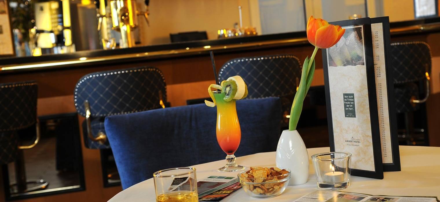 AMBER HOTEL Hilden Hotelbar