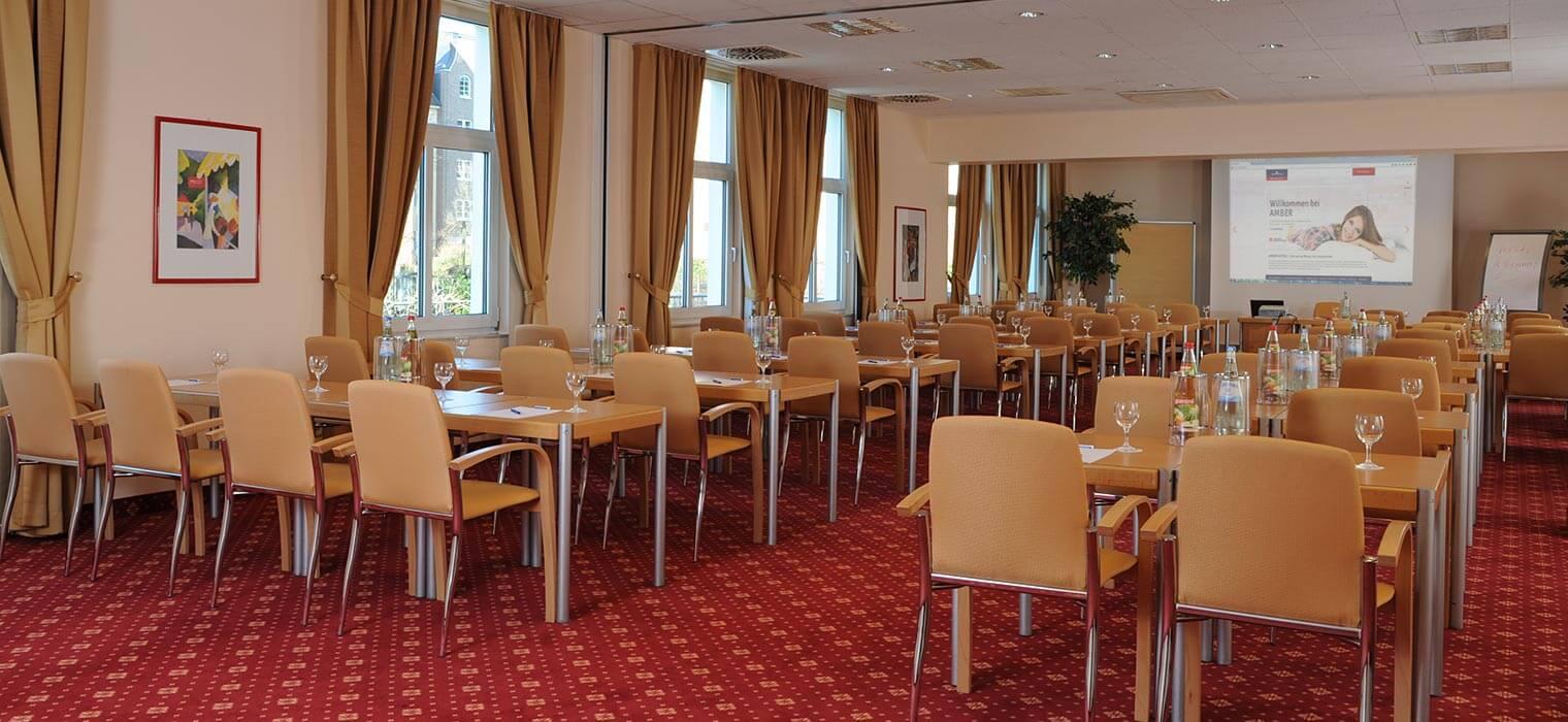 AMBER HOTEL Hilden Tagungsraum Hamburg-München