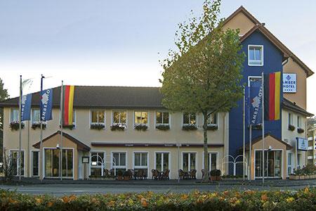 AMBER HOTEL Hilden/Düsseldorf, Hotelansicht