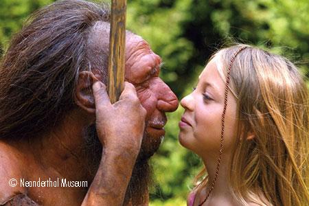 Neandertal, Foto: Neanderthal Museum