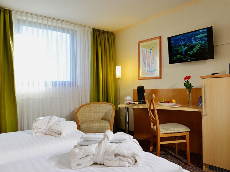AMBER HOTEL Leonberg/Stuttgart: Wohnbeispiel - Room example