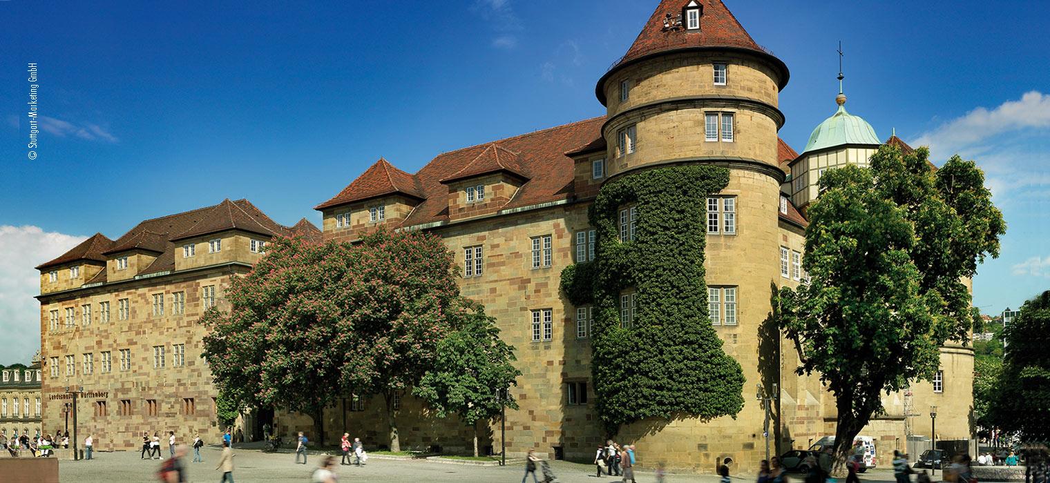 Altes Schloss Stuttgart, 15 km vom AMBER HOTEL Leonberg/Stuttgart entfernt, Foto: © Stuttgart-Marketing GmbH