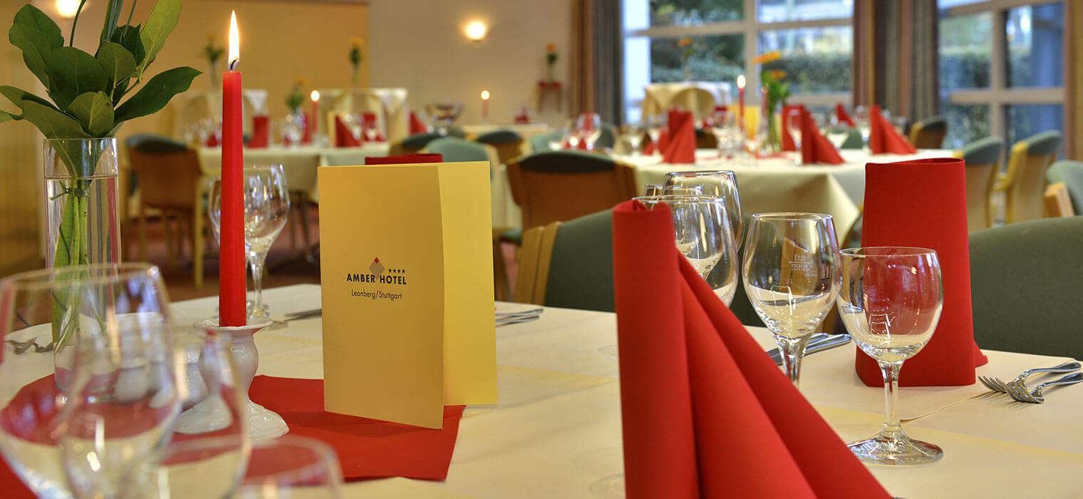 AMBER HOTEL Leonberg/Stuttgart - Veranstaltungsraum
