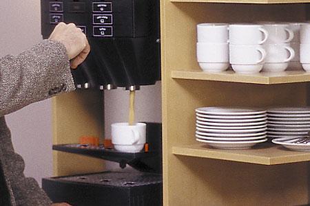 AMBER ECONTEL München, Tee- und Kaffeeservice