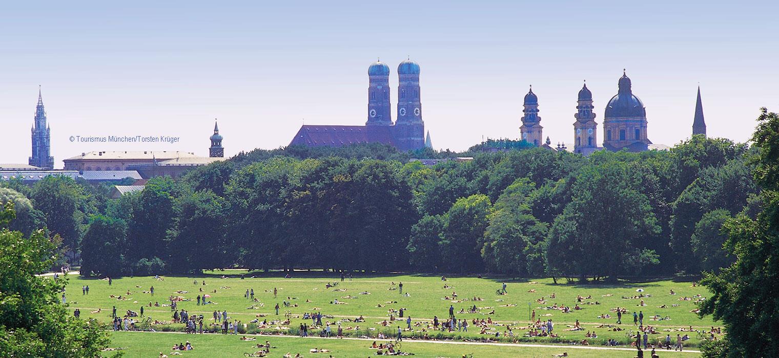 Englischer Garten München, Foto: © Tourismus München/Torsten Krüger