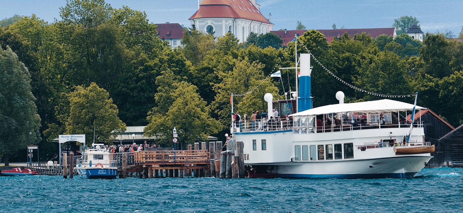 Herrsching am Ammersee, Foto: Bayerische Seenschifffahrt