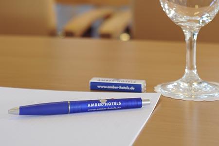 Tagungsraum Details, Bild: AMBER ECONTEL Münchens