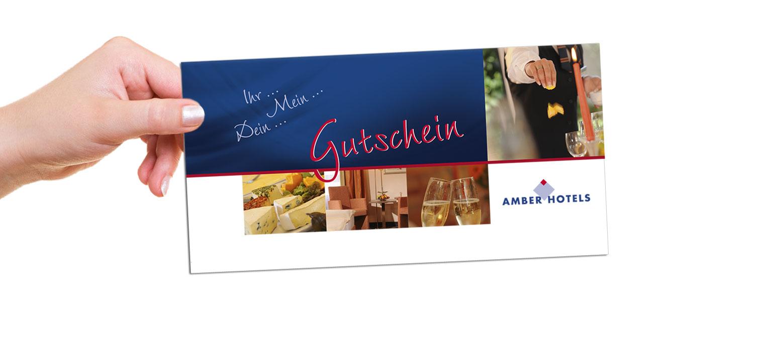Hotel-Gutschein, Bild: AMBER ECONTEL München